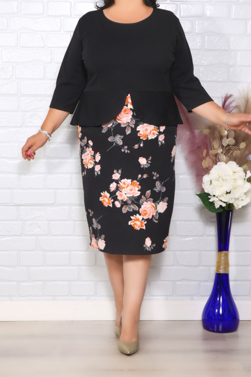 Rochie Eleganta Sureia Floral 242041117 4650242468360549 6650390019377864429 n
